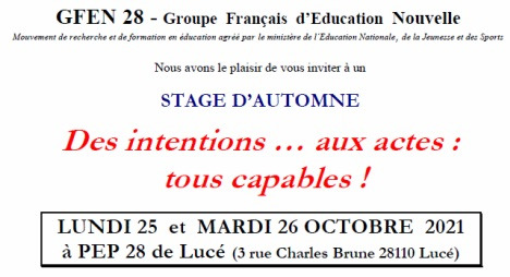 25-26 oct, Chartres