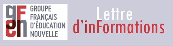 GFEN Lettres d'informations